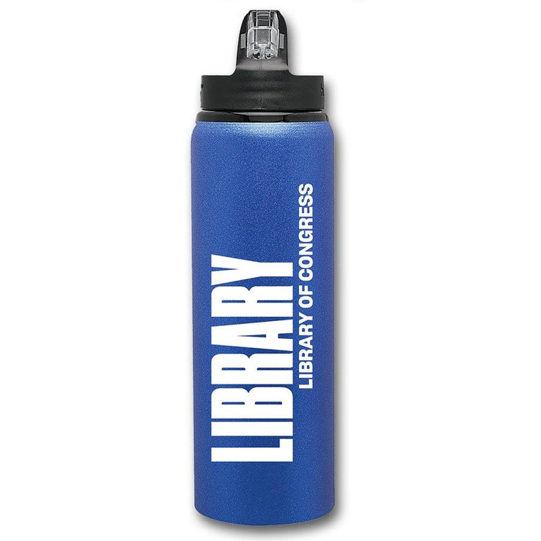 Library of Congress Water Bottle
