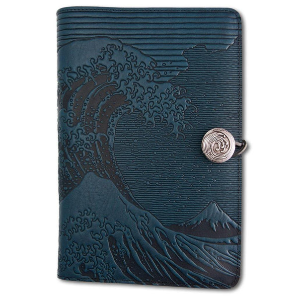 Great Wave Leather Journal - Library of Congress Shop