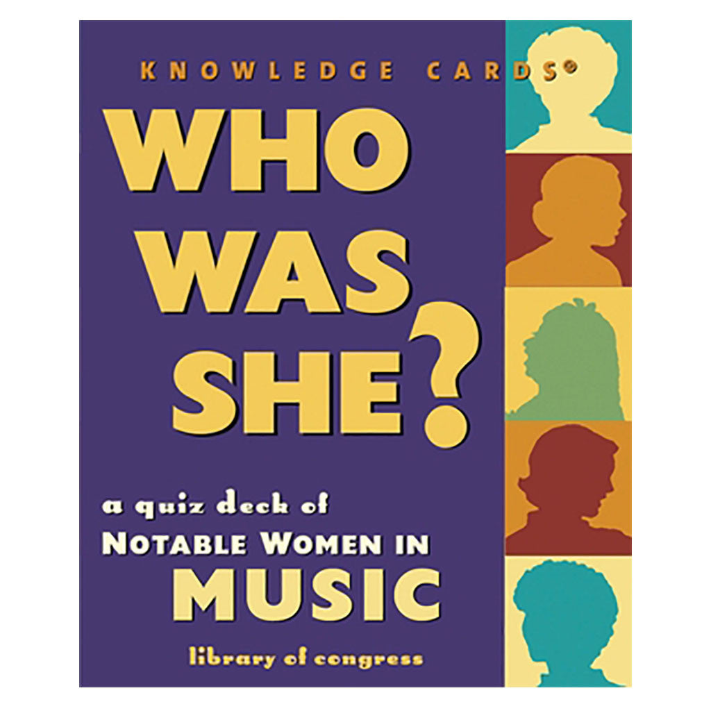 Who Was She? Notable Women in Music Knowledge Cards