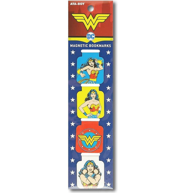 Wonder Woman Magnetic Bookmarks