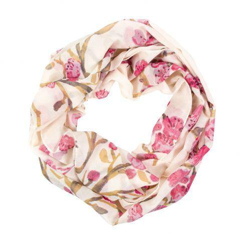 Cherry Blossom Infinity Scarf - Library of Congress Shop