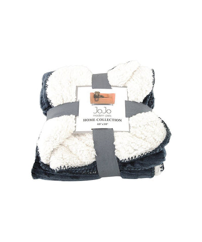 Gray Luxury Dog Blanket