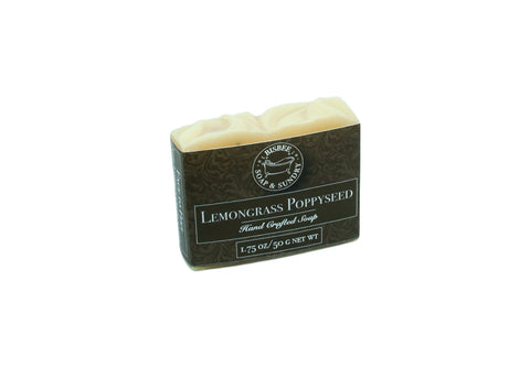 Lemongrass Poppyseed Soap - Mini Bar 1.75 oz