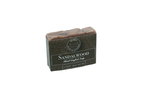 Sandalwood Handmade Mini Soap