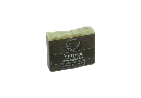 Vetiver Handmade Mini Soap