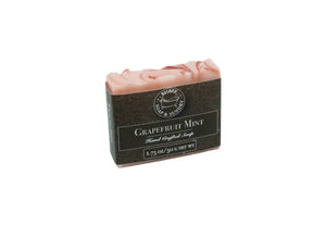 Grapefruit Mint Handmade Mini Soap