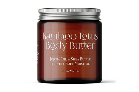 Bamboo Lotus Body Butter - 8 oz.