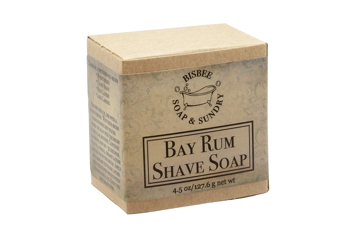 Bay Rum Shave Soap - 4.5 oz.