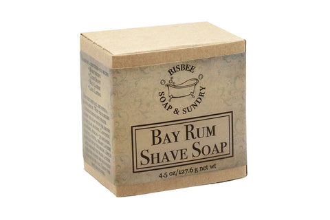 Bay Rum Shave Soap - 4 oz.