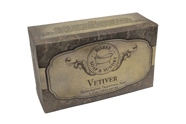 Vetiver Handmade Soap - 6.5 oz