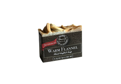 Warm Flannel Handmade Mini Soap - 1.75 oz