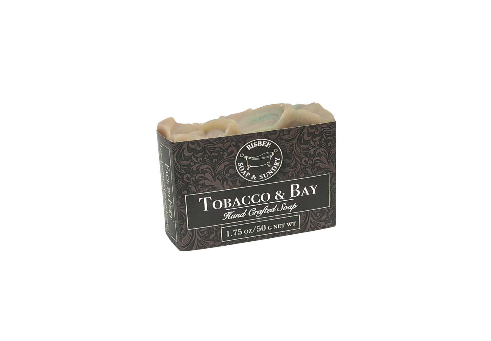 Tobacco & Bay Handmade Mini Soap - 1.75 oz