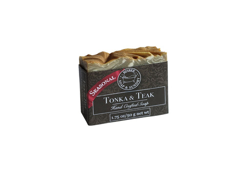 Tonka & Teak Handmade Mini Soap - 1.75 oz