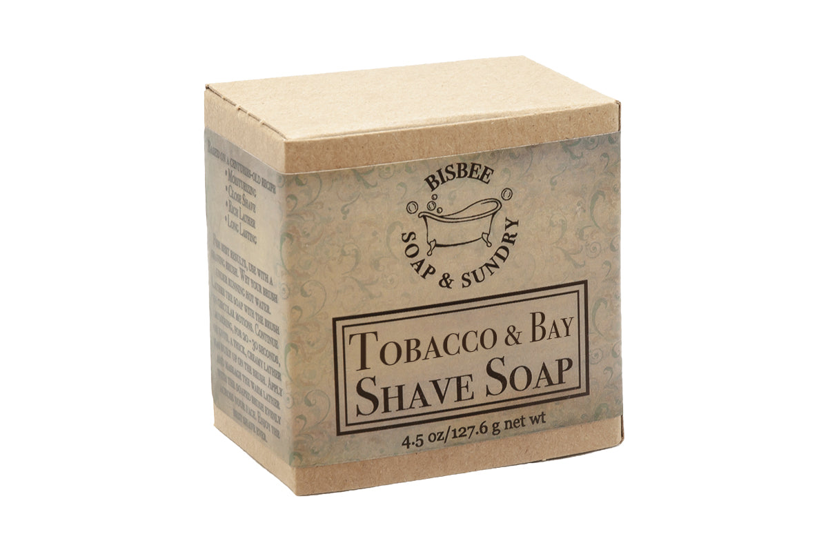 Tobacco & Bay Shave Soap - 4.5 oz.