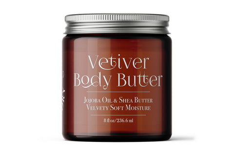 Vetiver Body Butter - 8 oz.