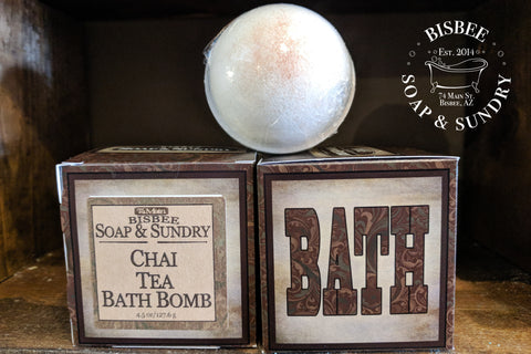 Chai Tea Bath Bomb - 4.5 oz