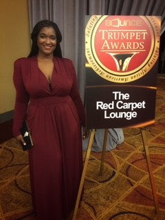 "Local Houston Designer T. Nicole Designs ""Roars"" on to Scene at the 26th Annual Trumpet Awards"