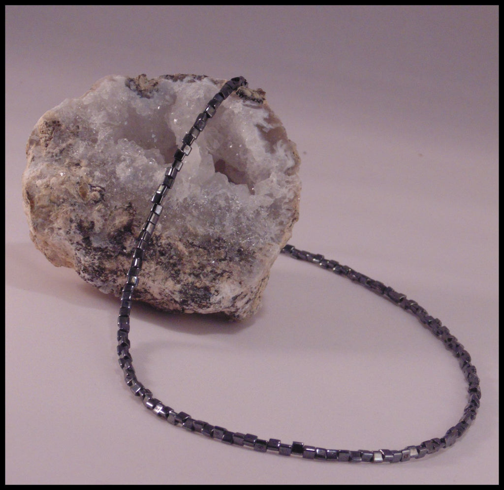Erebus - Hematite Colored Necklace