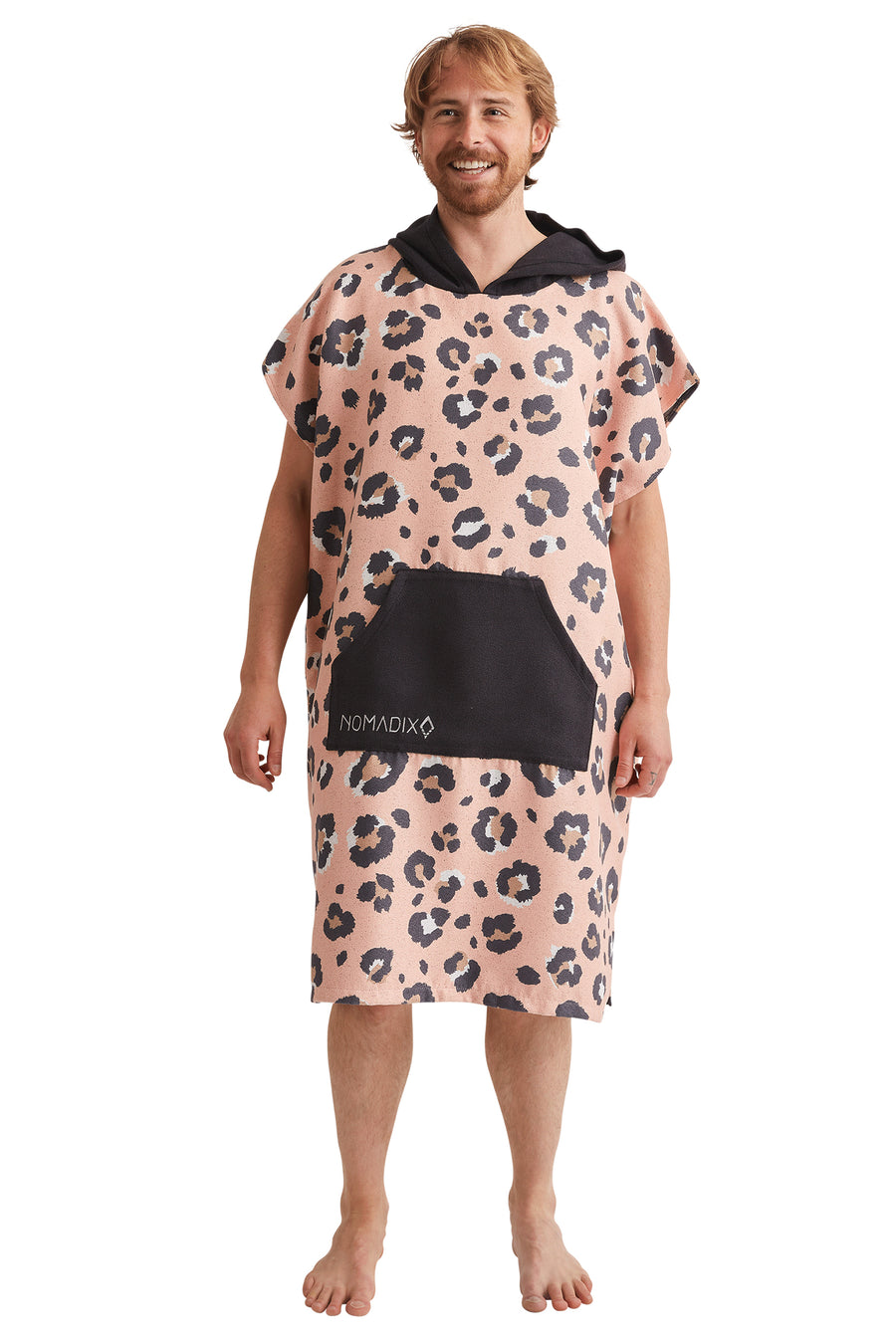 Leopard Pink Changing Poncho