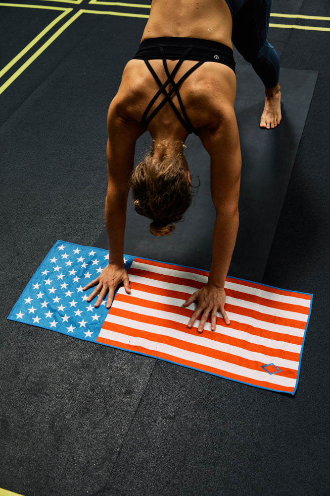 State Flag: American Flag Do Anything Towel