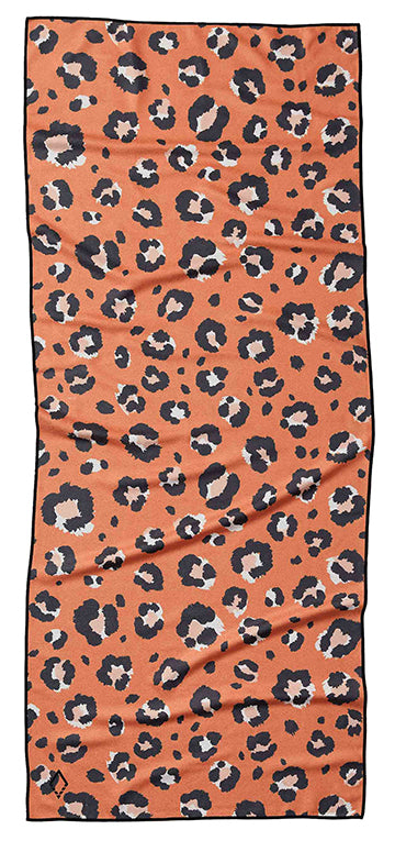 Leopard Orange Towel