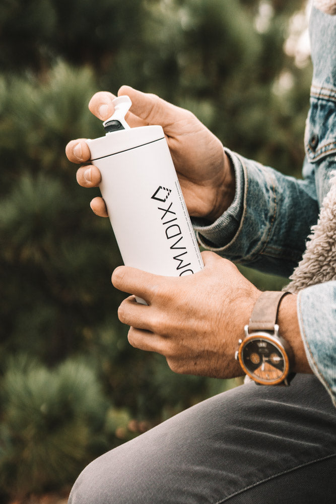 Nomadix X MiiR Insulated Travel Tumbler 16oz White