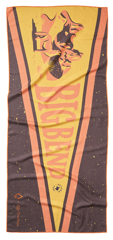 59 Parks Collection Big Bend Flag Towel