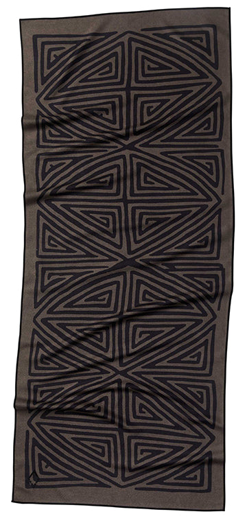 La Playa Brown Black Towel