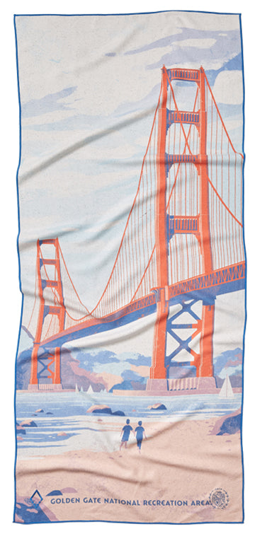 59 Parks Collection San Francisco Towel