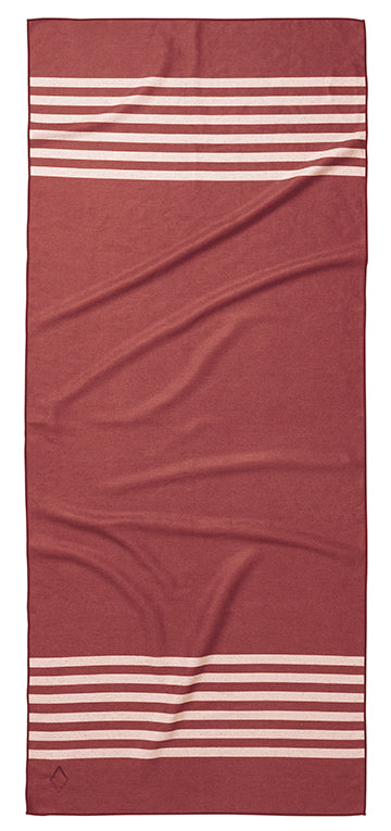 Pool Side Crimson Towel