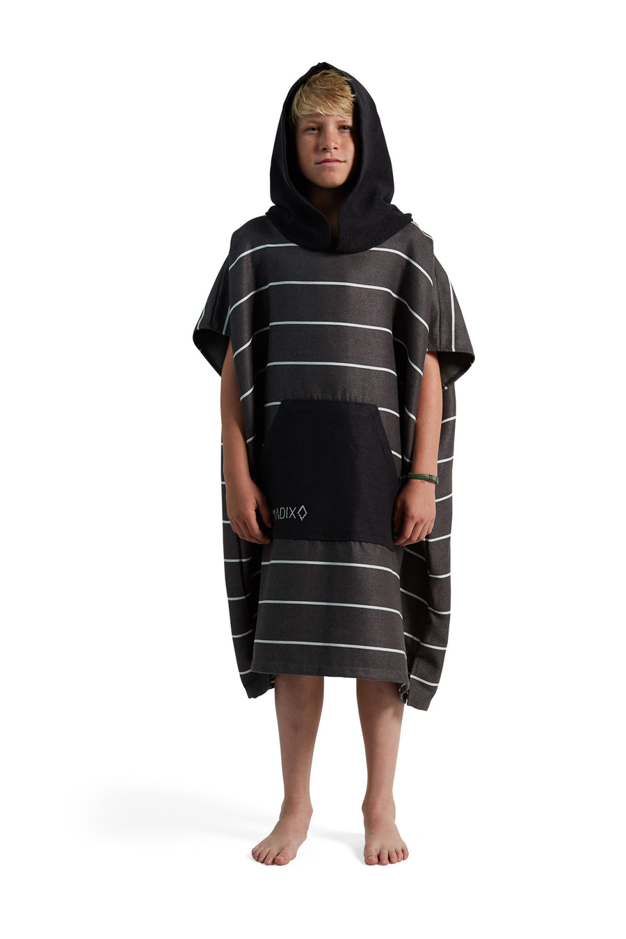 Pinner Black Changing Poncho Kids