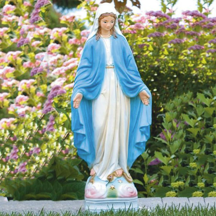 Detailed Blessed Mother Statues