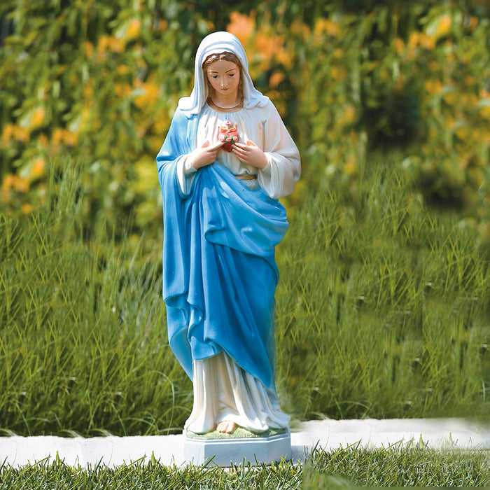 Sacred Heart of Mary Statues