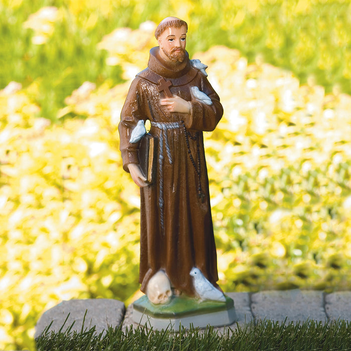 St. Francis with Birds Statues