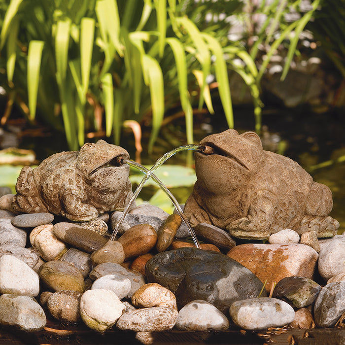 Bull Frog Pond Statue (Plumbed)