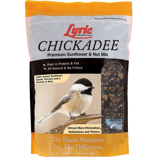 Lyric Chickadee Premium Sunflower & Nut Bird Mix