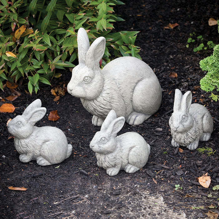 Rabbit Statues (Set of 4)