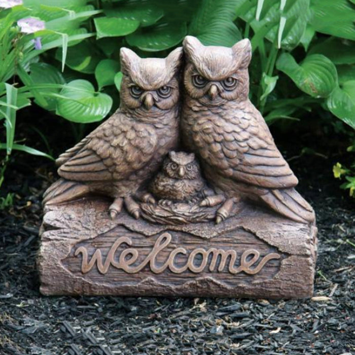 Welcome Friends Statues