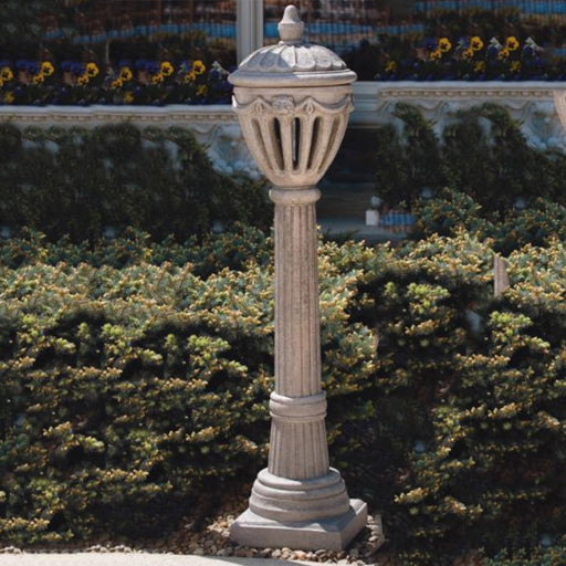 "55"" Royal Stone Lamp Post"