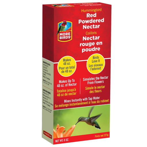 More Birds Premium Red Powdered Hummingbird Nectar