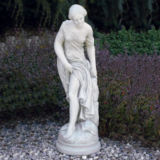 "36"" Bathing Woman Statue"