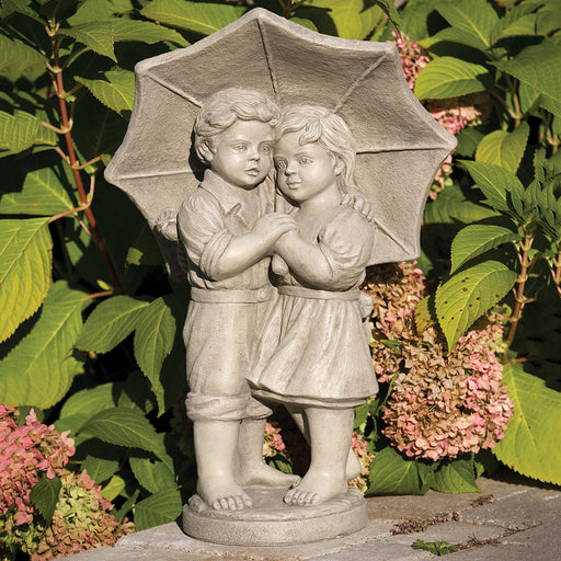 "26"" Rainy Day Children Statue"