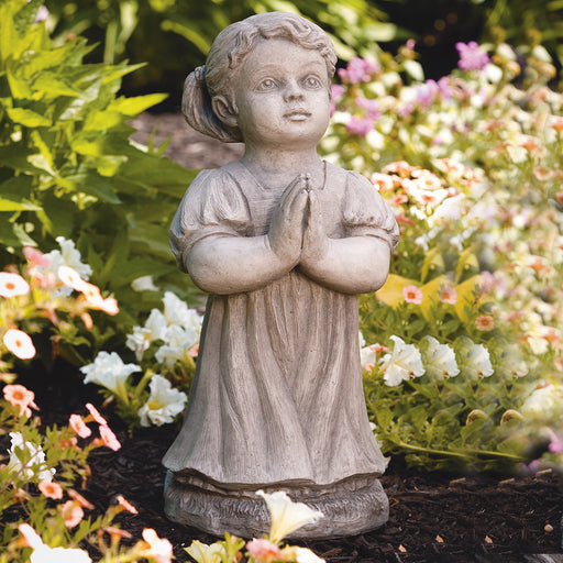 Peaceful Girl Statue