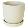 Chatham Egg Pot - Matte White