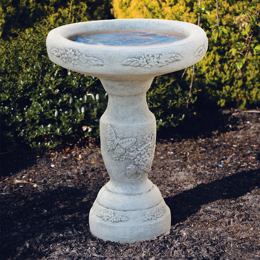 One-Piece Birdbaths