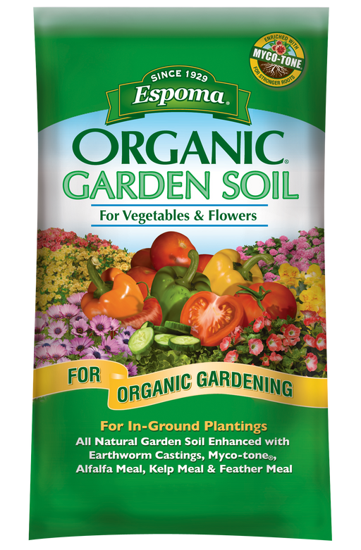 Espoma Organic Vegetable & Flower Garden Soil