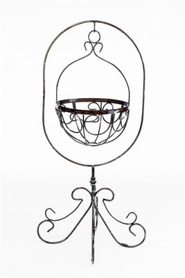 Matlock Plant Stand w/ Basket