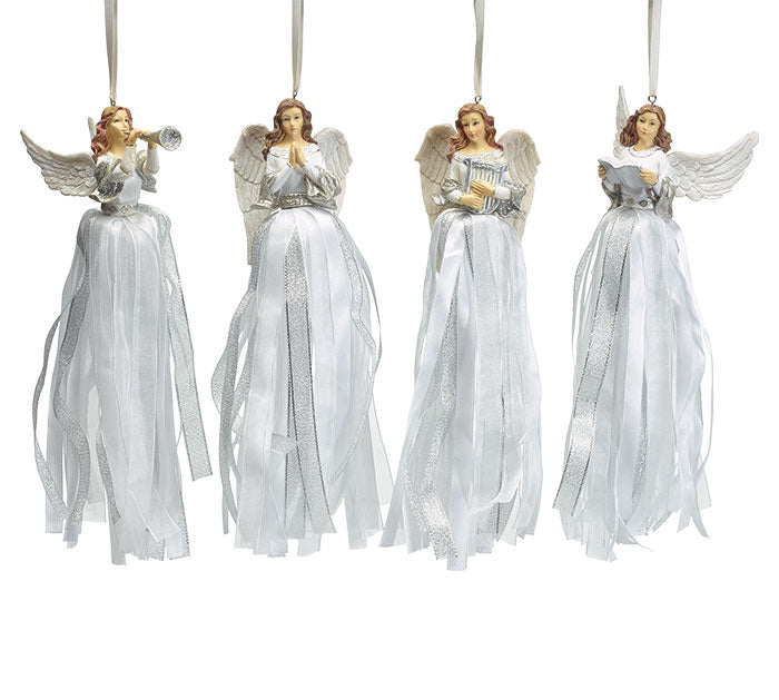 Resin Angel Ornaments