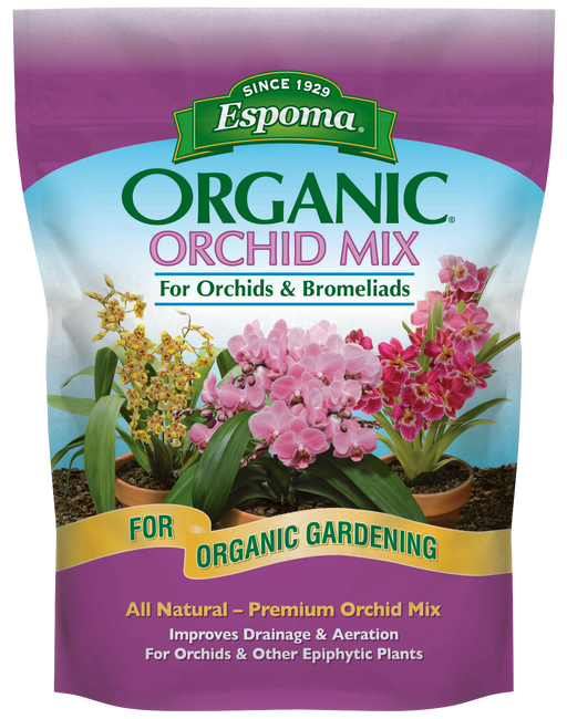Espoma Organic Orchid Mix For Orchids & Bromeliads