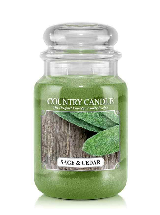 Country Candle - Sage & Cedar